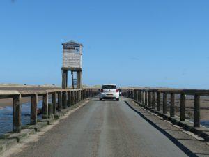 holy island causeway entrance