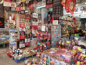 Stanley market stall