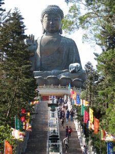 steps to the Big Buddha view