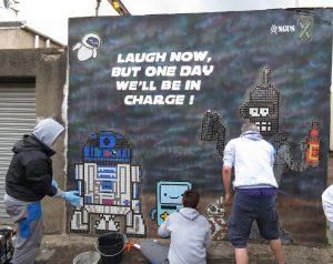 Upfest street art, Angus