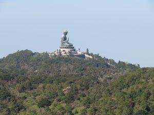 Big buddha view on Lantau island