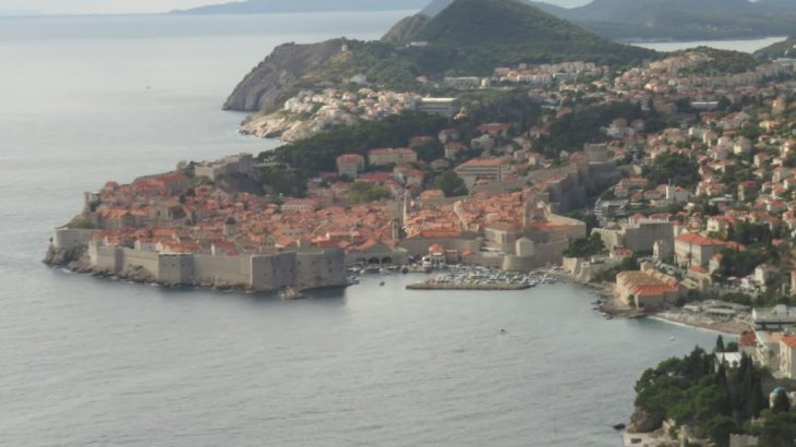 Dubrovnik from view point
